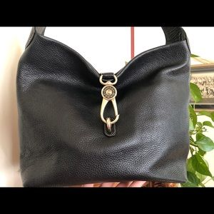 Dooney & Bourke Bags - Dooney and Bourke Large Logo Lock Shoulder Bag